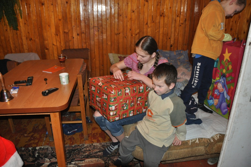 Weronika, Kacper, Dominik